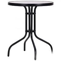 Стол Rico черный, стекло (SC-070), TM AMF