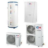 Тепловой насос для отопления, охлаждения, горячего водоснабжения (R410A, INVERTER) CH-HP16SINK2