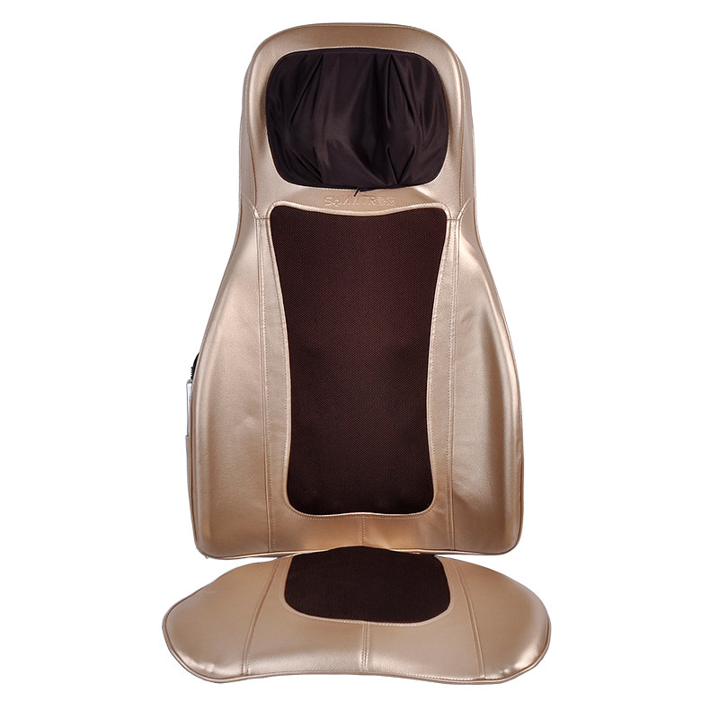 Массажная накидка SUNWTR RD-M2838 Массажная накидка на кресло, 60Вт, Золотистая (SUN0391)