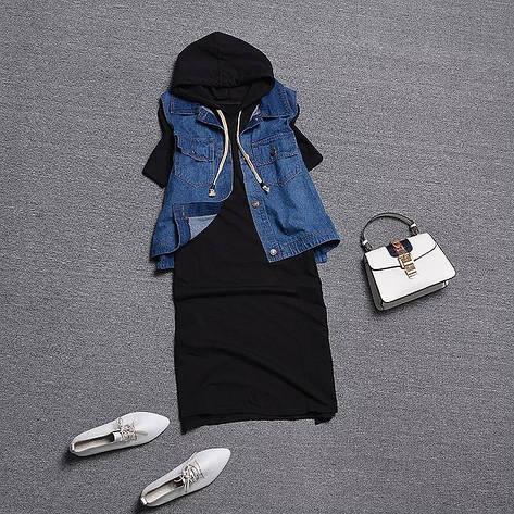 Женский костюм платье и жилетка, фото 2