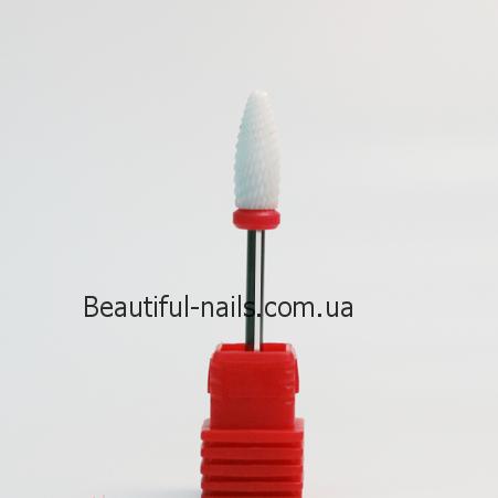 Насадка для фрезера керамическая, конус (F) №2