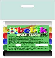 Полімерна глина 6 кольорів, фото 1
