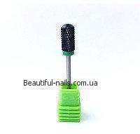 Насадка керамическая для снятия геля, (черная) C BARELL BALL №10