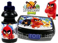 """Набор """"Angry Birds (Злые птицы)"""". Ланч бокс (ланчбокс) + бутылка"""
