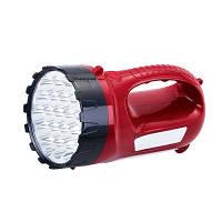 Фонарь для дома и дачи YAJIA 2820-15, 34 светодиода, откидная панель, скрытый сетевой шнур, питание 2 аккум