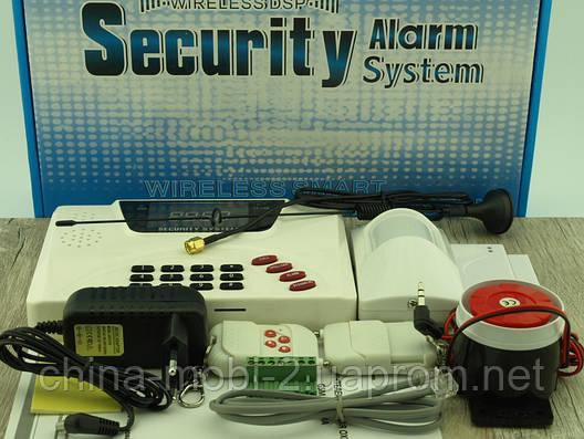 Smart Security Alarm system GSM-1000 Double Net Gsm автономная охранная сигнализация, фото 2