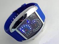 Часы мужские Спидометр - бинарные LED (3 цвета)