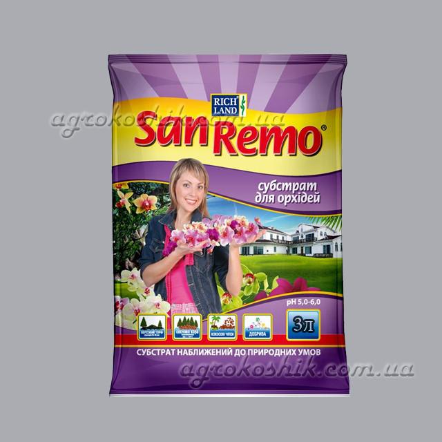 Субстрат (грунт) для орхидеи SanRemo 3л