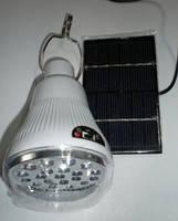 Лампа GD 5007S с солнечной панелью, фото 1