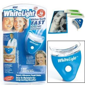Эффективное отбеливание зубов WHITE LIGHT для домашнего применения