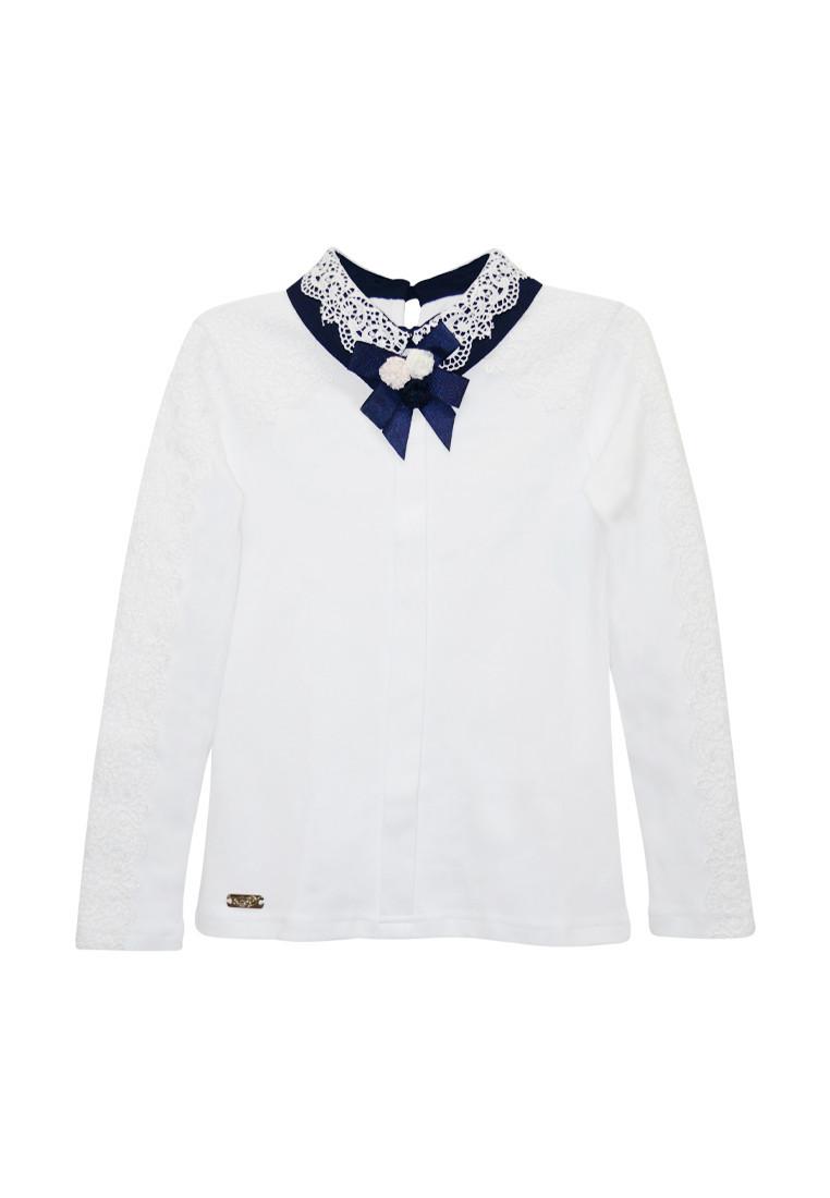 Блузка для девочки с брошью ТМ Suzie 77011d95bb28b