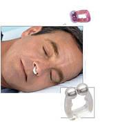 Спокойный сон без храпа – магнитная клипса антихрап Snore Free Nose Clip, силиконовая, с магнитами, фото 1