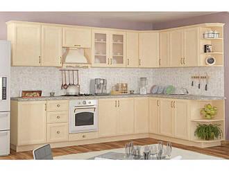 Кухня угловая «Роял» клен Мебель Сервис