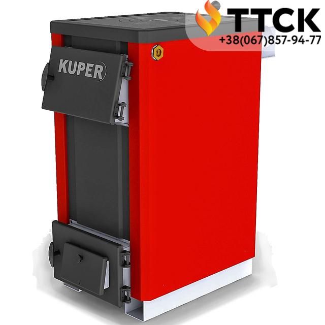 Купер-Т(турбо)-18П (Kuper-18П) котел плита твердотопливный мощностью 18 квт