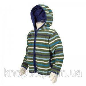 Флисовая кофта для мальчика, с капюшоном, Pidilidi