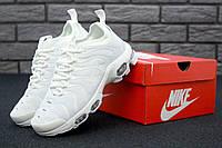 Кроссовки Nike Air Max TN Plus Triple White, фото 1