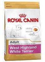 КОРМ ROYAL CANIN (РОЯЛ КАНИН)  WEST HIGHLAND WHITE ADULT для собак породы вест-хайленд-уайт-терь 0.5 кг