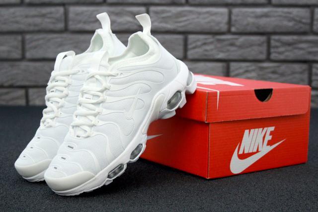 Nike Air Max TN Plus Triple White