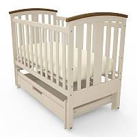 Детская кроватка Woodman Mia(слоновая кость)(@)