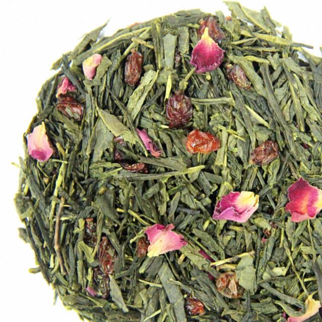 """Зелений ароматизований чай """"Зелений Барбарис"""", 10 г"""