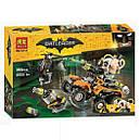 """Конструктор Bela 10737 (Lego The Batman Movie 70914) """"Химическая атака Бэйна"""" 380 дет., фото 3"""