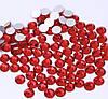 Камни Ss6 стекло 100 шт  красные