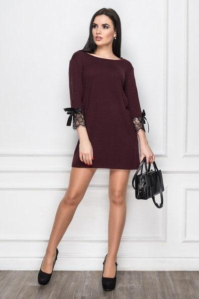 Платье Verona 2 бордовый