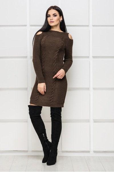 Платье Vanessa-1 коричневый