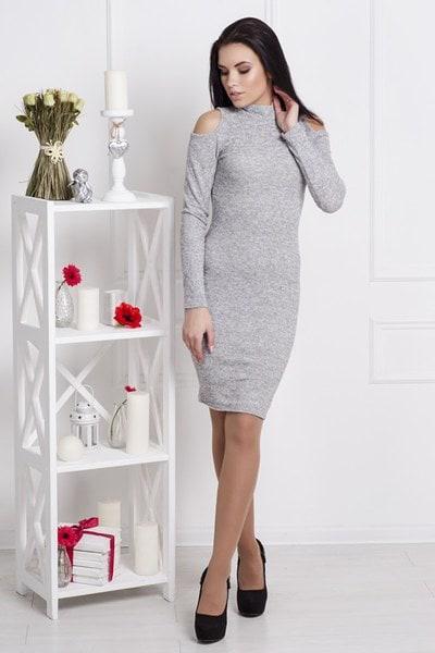 Платье Донна серый