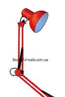 Настольная лампа для мастера маникюра MT-340(цвета красный,черный, белый, зеленый)