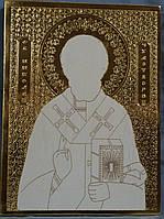 Золочение сусальным золотом икон и чпу гравировка.