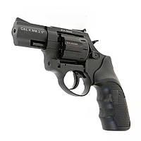 """Револьвер под патрон Флобера Stalker 2.5"""" black черный пластик , фото 1"""