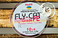 Оригинальный шнур Fly Cat 137м Япония Розовый, фото 1