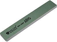 Пилки маникюрные SALON PROFESSIONAL (400/3000) для полировки ногтей серые, широкие, эко, фото 1