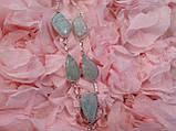 Амазоніт намисто з натуральним амазонитом в сріблі, фото 3