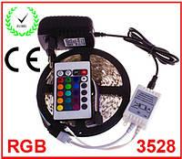 Лента светодиодная RGB 3528 IP33 - полный комплект