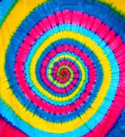 """Покрывало """"Спираль"""" цветное 100% хлопок (210х240 см)"""