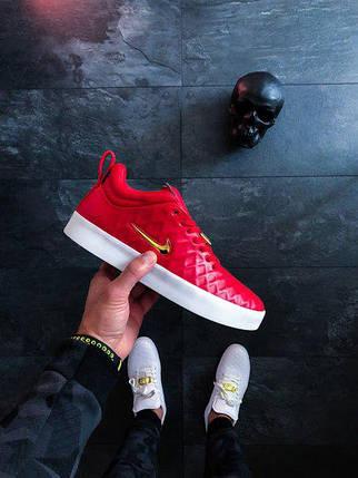 Мужские кроссовки Nike Tiempo Vetta 17 Red Gold White топ реплика , фото 2