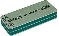 Бафы маникюрные SALON PROFESSIONAL (RK400/3000) для полировки ногтей эко, сендвичи, серые