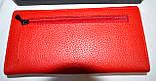 Женский черный кошелек из натуральной кожи Prensiti на кнопке, фото 2