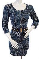 Платье женское 5377 Синий, 44
