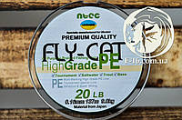 Оригинальный шнур Fly Cat 274м Япония Зеленый 0.32mm 50lbs, фото 1