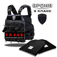 Бронежилет (Plate Carrier) BLACK