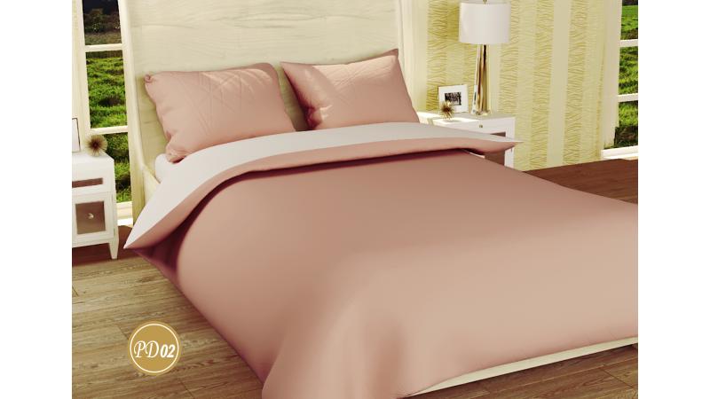 Двуспальное постельное белье ранфорс (евро), фото 2