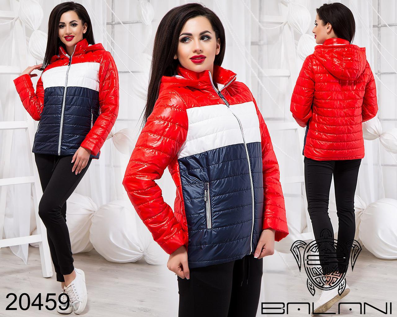 1524532942d Весенняя женская куртка с капюшоном Фабрика Украина Прямой поставщик  интернет-магазин одежды 42-46