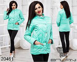 Элегантная весенняя куртка на кнопках Фабрика Украина Прямой поставщик интернет-магазин одежды 42-46