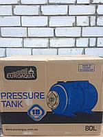 Euroaqua Гидроаккумулятор VТ 80л горизонтальный