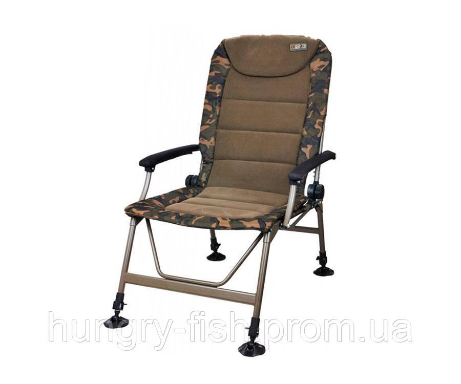 Крісло з підлокітниками FOX R3 (камуфляж)