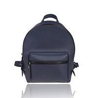 """Рюкзак 3D синий """"квадрат"""", фото 1"""