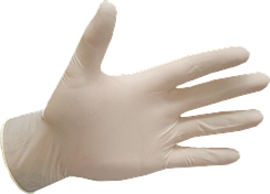 Перчатки латексные